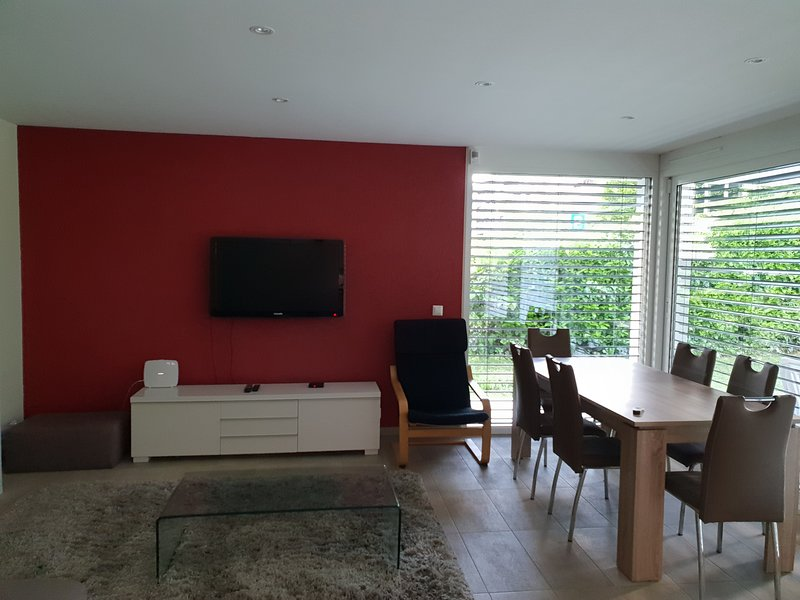 Very Modern and Comfortable Apartment with Garden – semesterbostad i Genthod