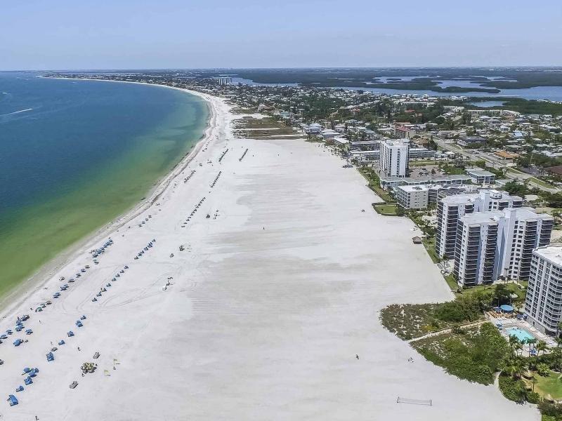 Picture perfect white sand beaches