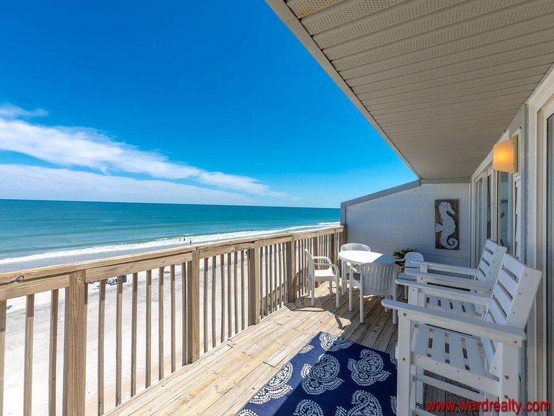 Oceanfront Sun Deck (Partially Covered)