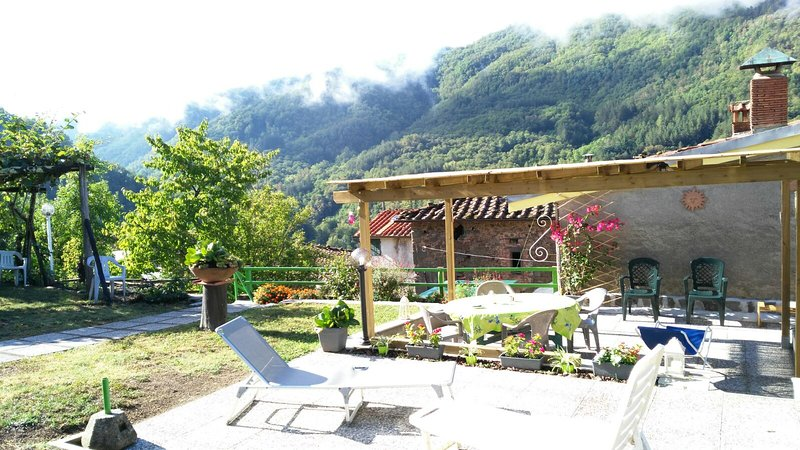 Beautiful house with mountain view, vacation rental in Abetone