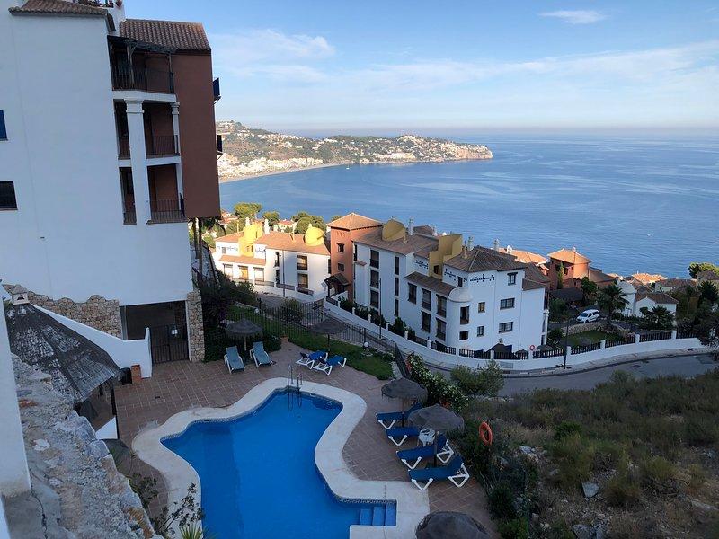 Amazing Sea Views La Herradura Spain, holiday rental in La Herradura
