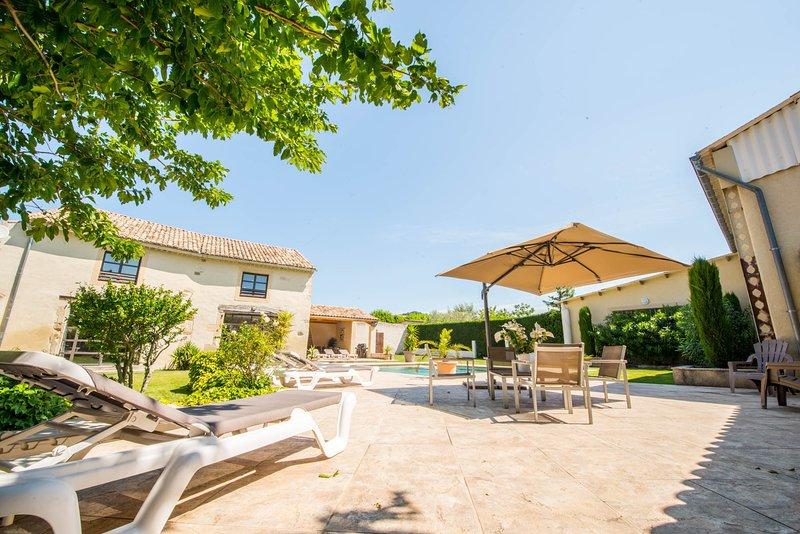 Le Mas du Batadou en Provence, location de vacances à Saint-Maurice-sur-Eygues