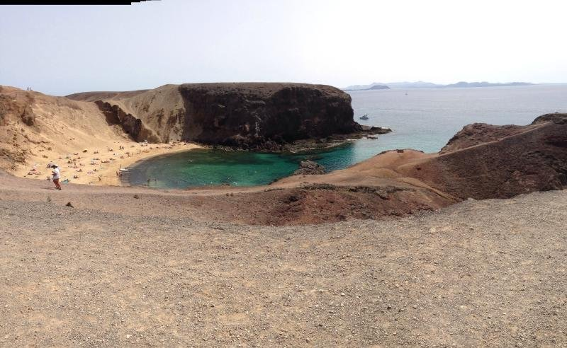 one of the papagayo beaches