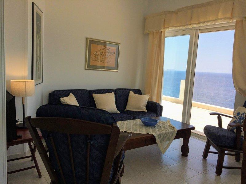 Mirabello Sea House in Agios Nikolaos, holiday rental in Agios Nikolaos