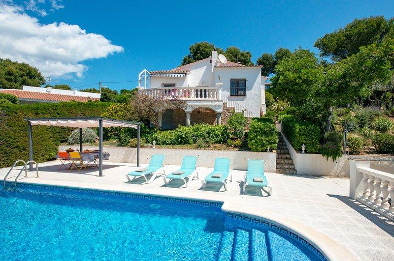 Tamariu Villa Sleeps 4 with Pool and WiFi - 5781727, aluguéis de temporada em Tamariu