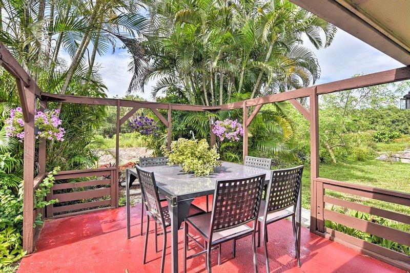 Enjoy a sunny getaway at this Florida vacation rental home!
