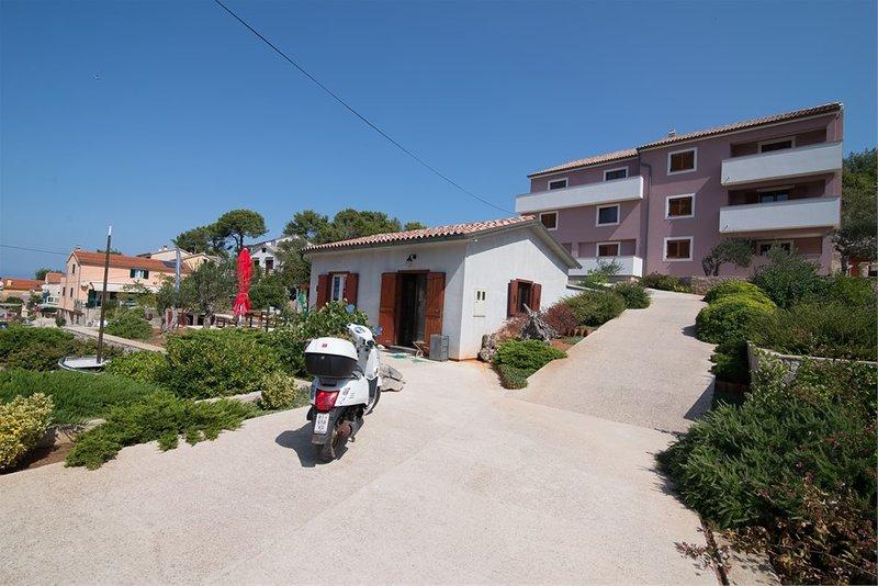 Amaryllis residence, apartment Diana, aluguéis de temporada em Veli Lošinj