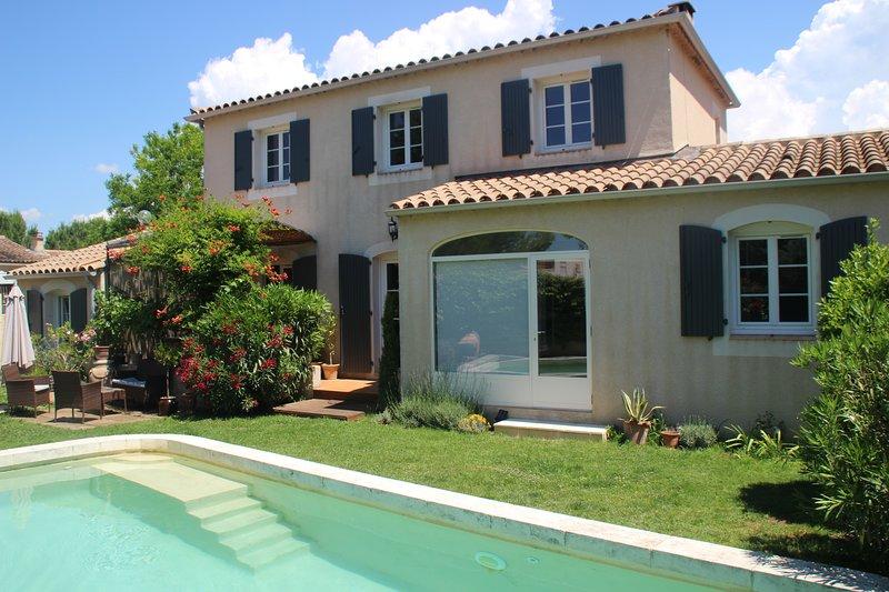 Villa 6/8 personnes environnement calme, vacation rental in Carpentras