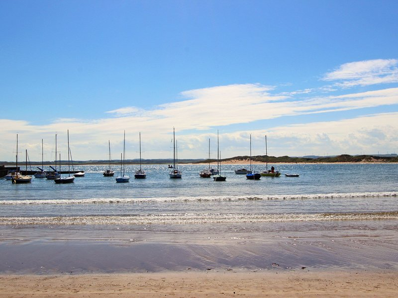 Beadnell beach is great for all water sports