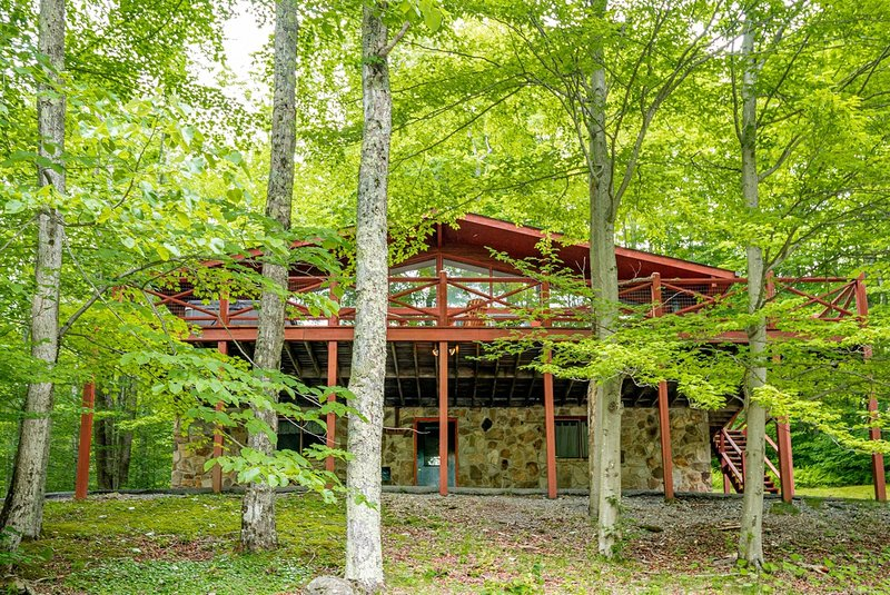 Our Greyt Escape - 711 Mountainside Road  Our Greyt Escape - Lake Access, Pet Fr, holiday rental in Canaan Valley
