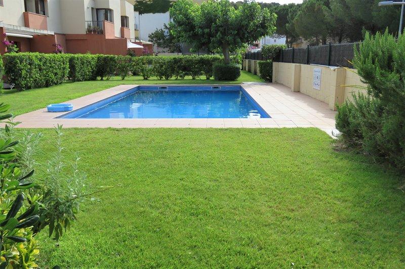 piscina compartida