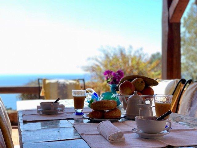 Villa a Cala Piccola con vista mare, holiday rental in Monte Argentario