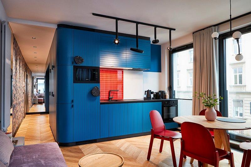 Rajska Blue Luxury Apartment, Ferienwohnung in Krakau