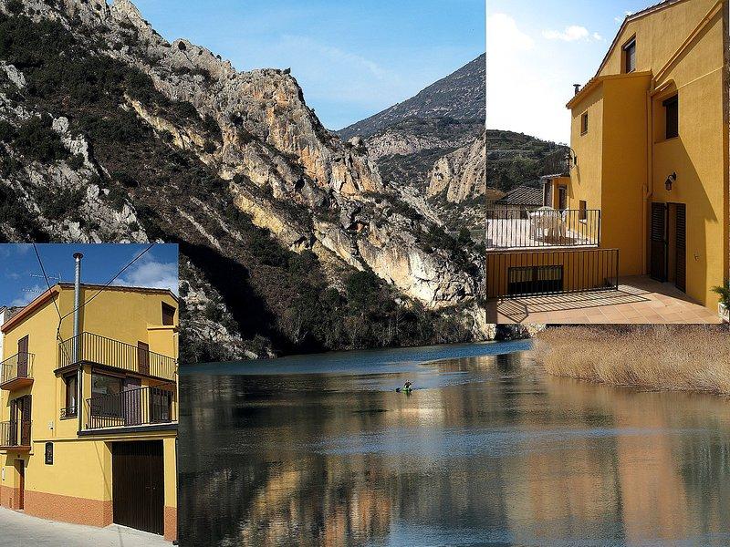 Ca la Carme en Camarasa, El Montsec, Ferienwohnung in Alfarras