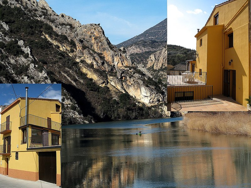 Ca la Carme en Camarasa, El Montsec, holiday rental in Alfarras