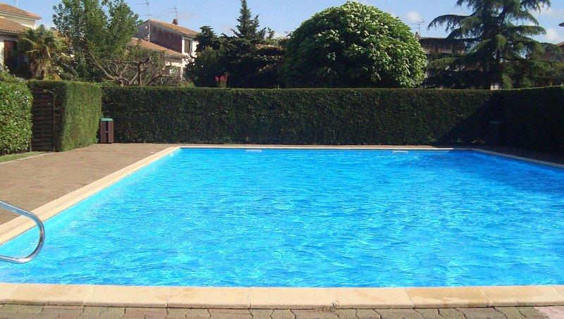 piscina privada en la aldea