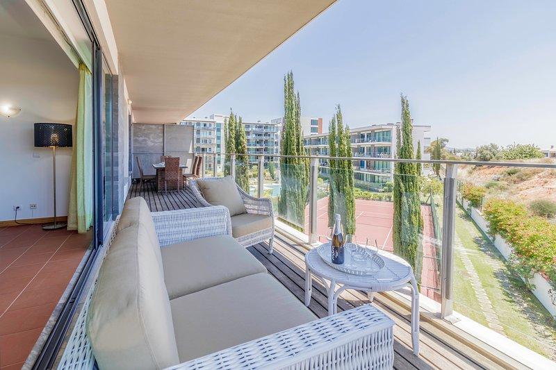 Residence Golf Club, Apartamento T2, Vilamoura, holiday rental in Vilamoura