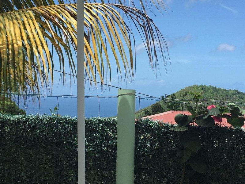 Beautiful apt with garden & terrace, location de vacances à Riviere-Pilote