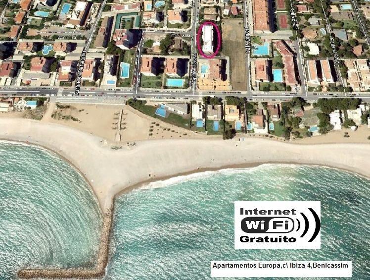 Apartamentos Europa, planta baja Benicassim, alquiler vacacional en El Grao