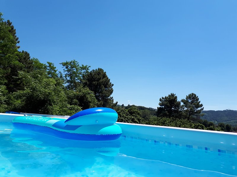 Beautiful house with swimming-pool, holiday rental in Nocchi