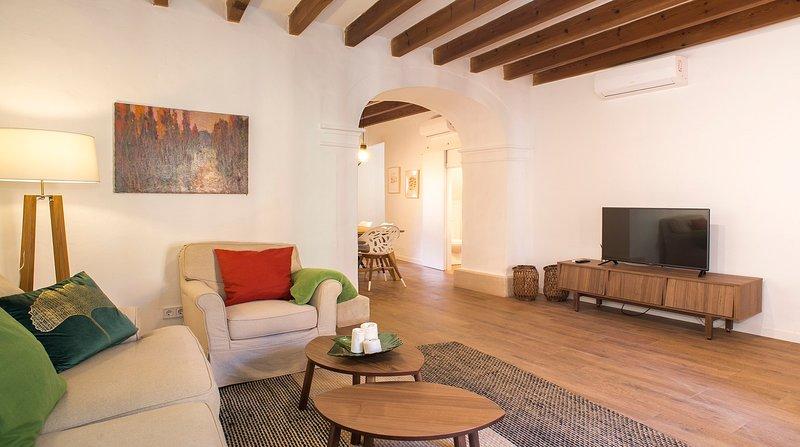 Bonito Mediterraneo, piscina privada, wifi,, location de vacances à Santanyi