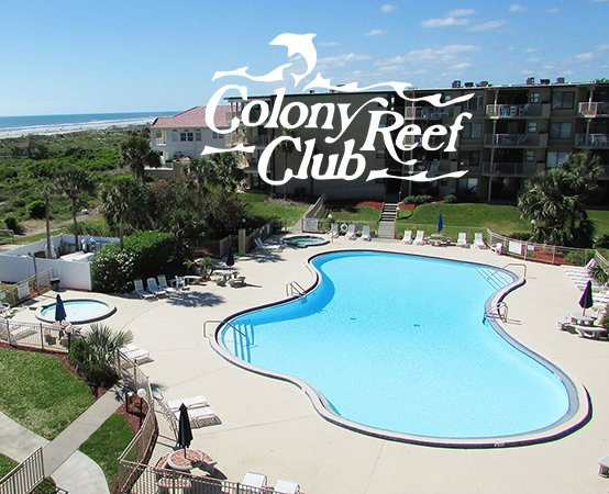 ST AUGUSTINE BEACH COLONY REEF OCEANFRONT CONDO RESORT SLEEPS 2-10