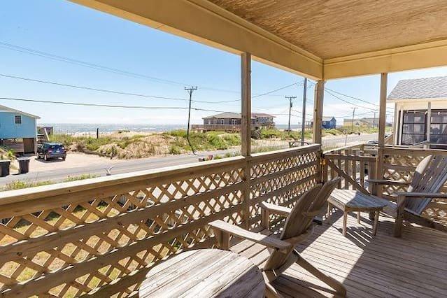 Saltaire Cottages 14: 4BR Kitchen Ocean View Pool, location de vacances à Kitty Hawk