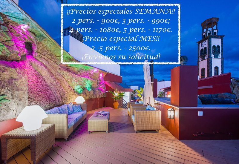 The best terrace of Santa Cruz de Tenerife *** The best terrace in Santa Cruz de Tenerife