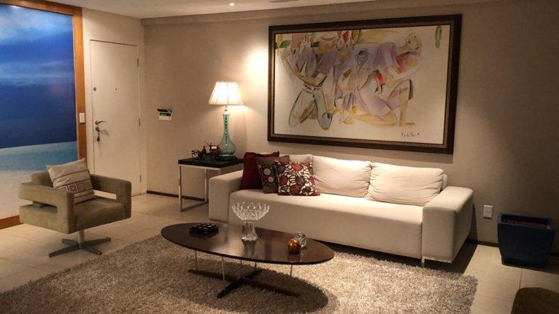Apartamento de Luxo - 3 SUÍTES - 2º bairro mais nobre de Fortaleza/Ce, holiday rental in Fortaleza