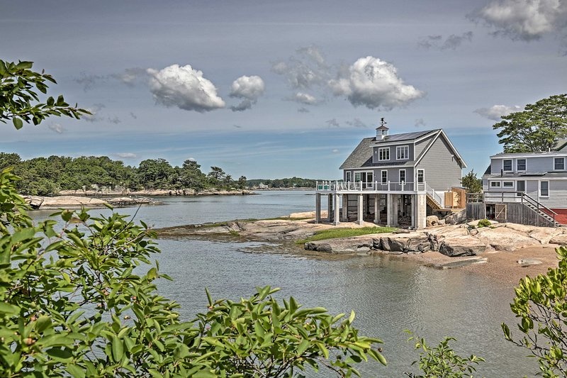 Money Island Home w/Deck, Kayak, Paddleboards, alquiler vacacional en Branford