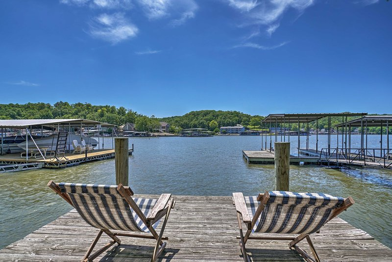 Lake of the Ozarks Home w/ Game Room, BBQ & Dock!, holiday rental in Linn Creek