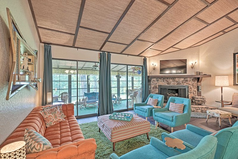 This tiki-themed vacation rental home is the escape you need!