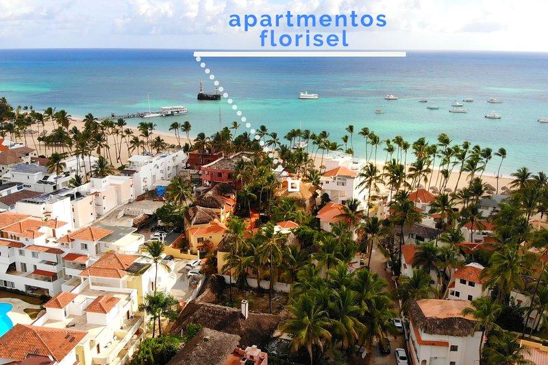 C201 Florisel - Lovely Beach apartment, vacation rental in El Cortecito