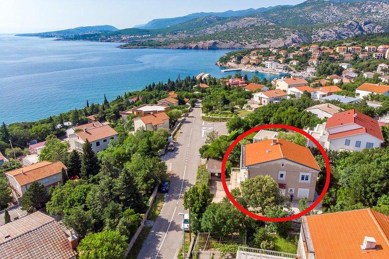 Two bedroom apartment Klenovica, Novi Vinodolski (A-5575-c), holiday rental in Klenovica