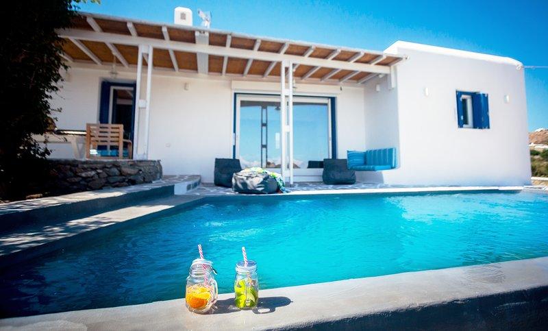 Villa Tropicaz, vacation rental in Platys Gialos