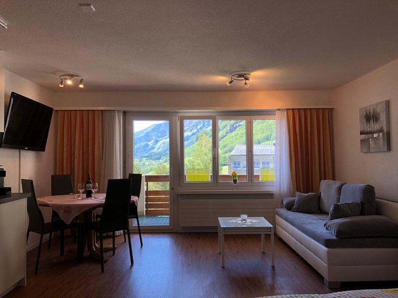Ferienwohnung Frégate 35, location de vacances à Leukerbad
