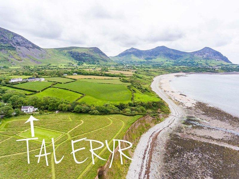 Tal Eryr, holiday rental in Llanaelhaearn