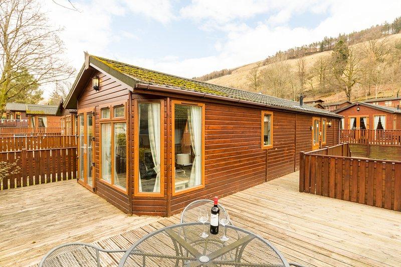 Fellside Retreat Lodge, Limefitt Holiday Park, holiday rental in Near Sawrey