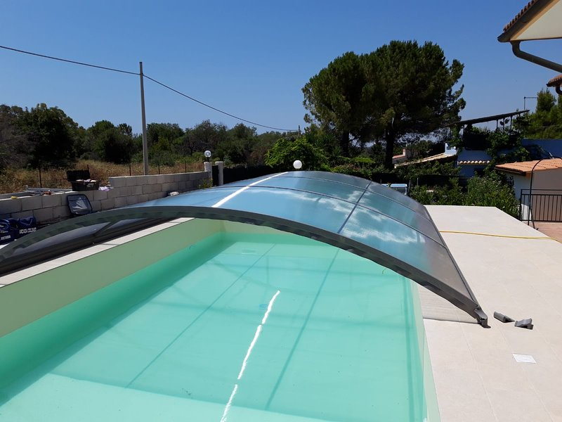 Spacious house with swimming-pool, vacation rental in Cassibile