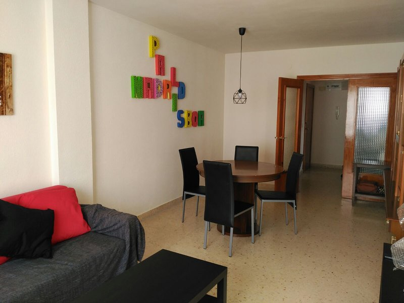 Nice apt with shared pool & terrace, vacation rental in Lliber