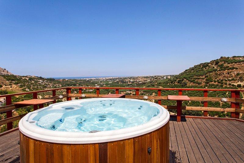 outdoor hot-tub