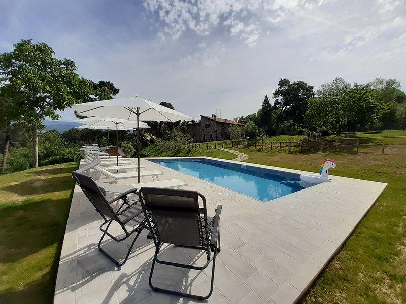 Casolare Giovangrande Poppi Tuscany, holiday rental in Quota