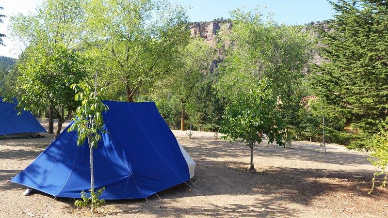 Campingområde för grupper