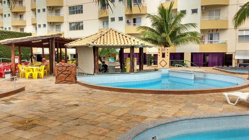 Flat Condomínio Thermas Place, location de vacances à Caldas Novas