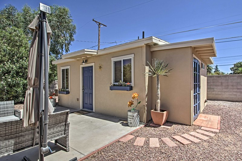 Your Tucson getaway awaits at this charming home.