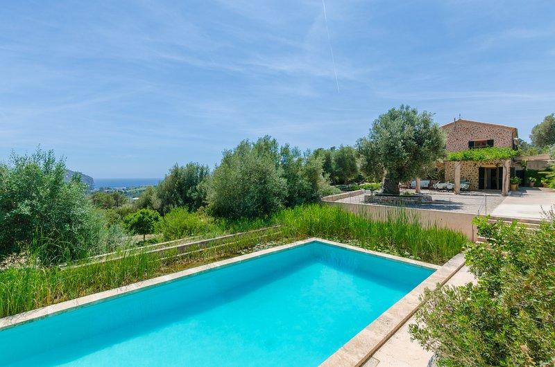 PUIG DE GARRAFA - Villa for 8 people in Andratx, holiday rental in Peguera