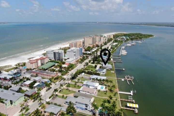 Located on the Bay at the northernmost end of Estero Island, it's one of the most picturesque spots on Fort Myers Beach!