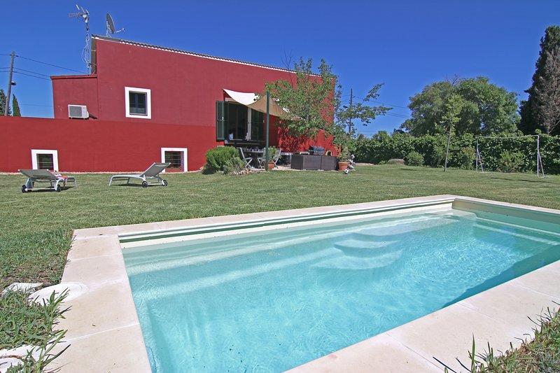 Isproperties Villa Ca´n Tomas, holiday rental in Pont d'Inca