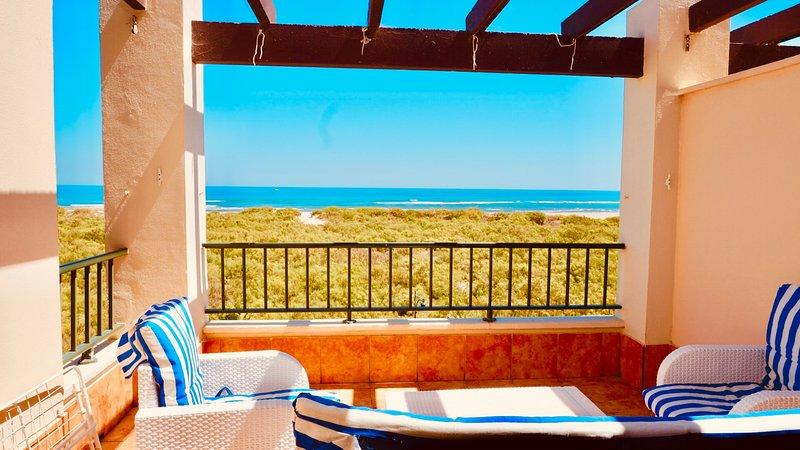 My Sunny Apt - 2 dormitorios, FRONTAL AL MAR – semesterbostad i Isla Canela