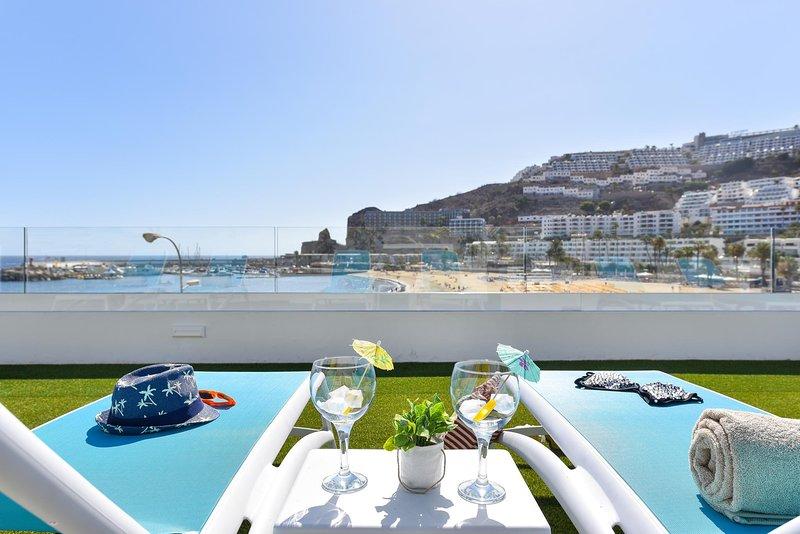 BeachFront Duplex Morea Suite Puerto Rico, location de vacances à Puerto Rico